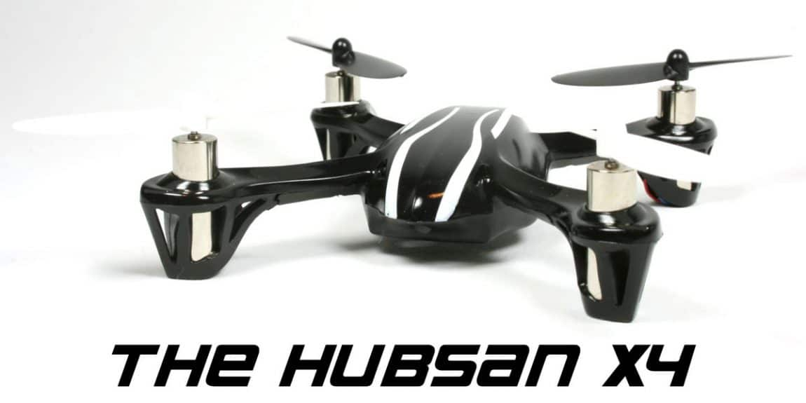 The-Hubsan-X4 budget quadcopter