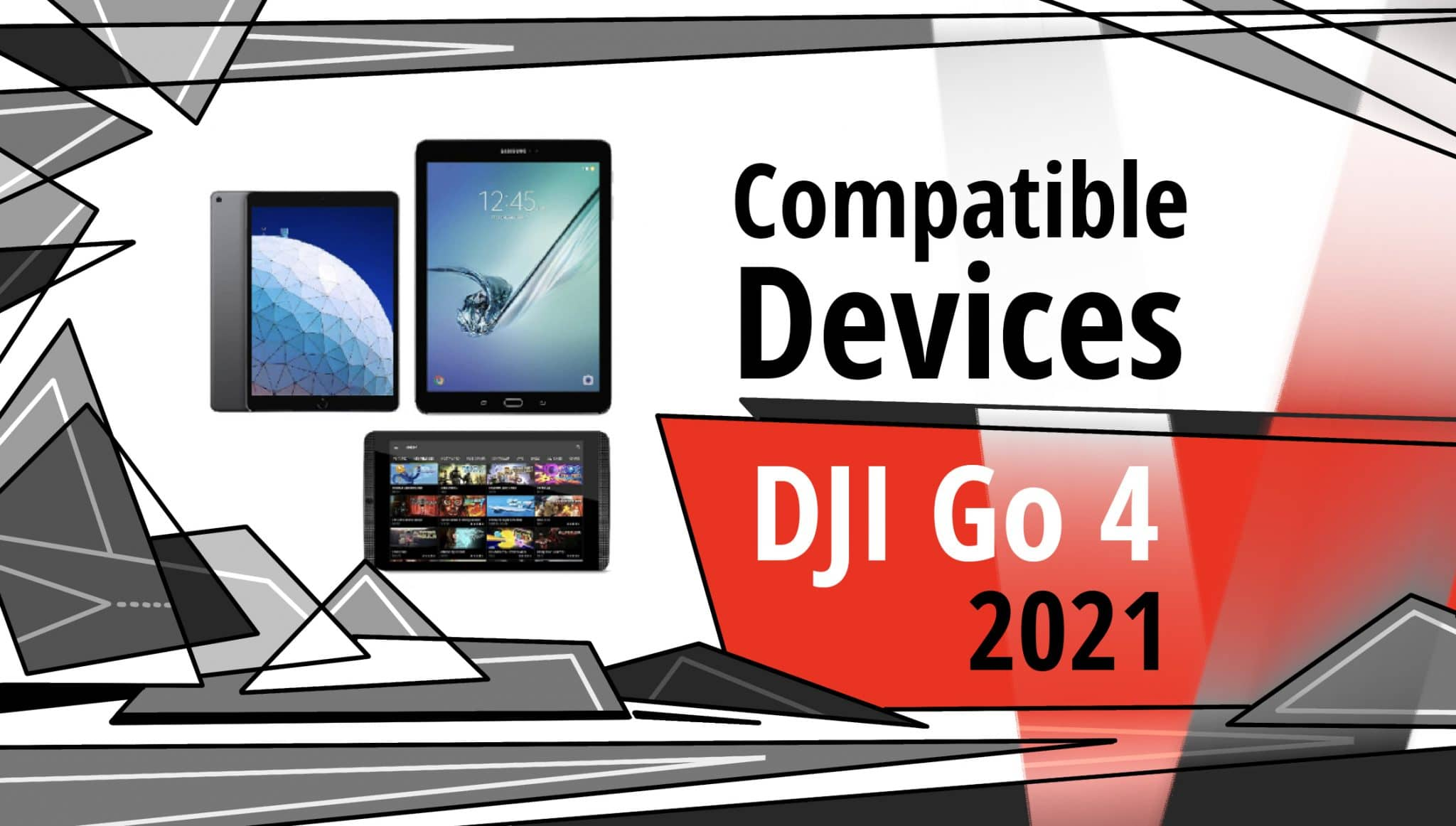 DJI Go 4 Compatible Devices