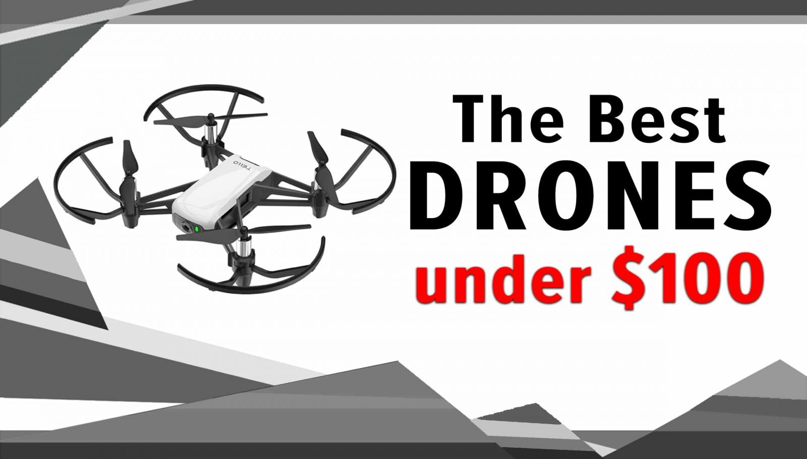 best camera drones under 100