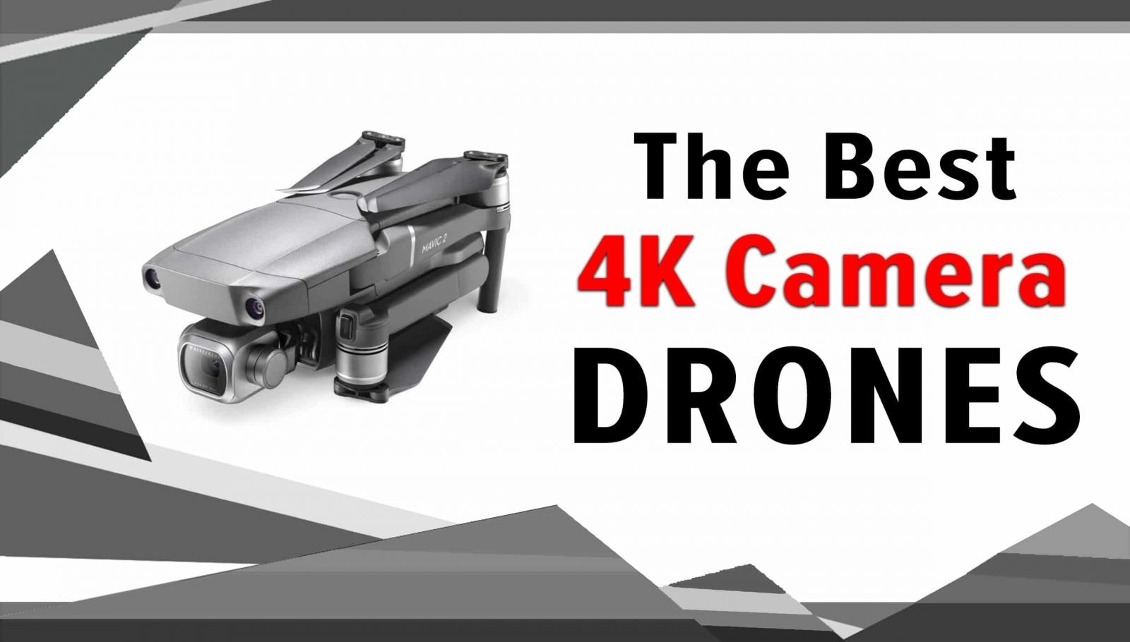 the best 4K camera drones