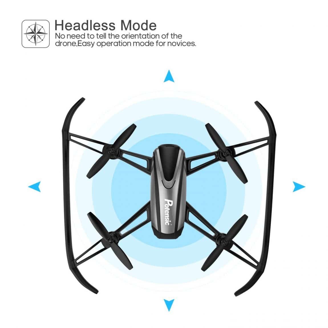Headless Mode Camera Drone