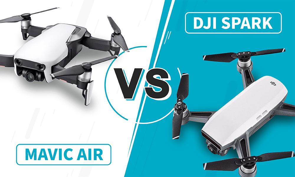 dji spark vs mavic air review