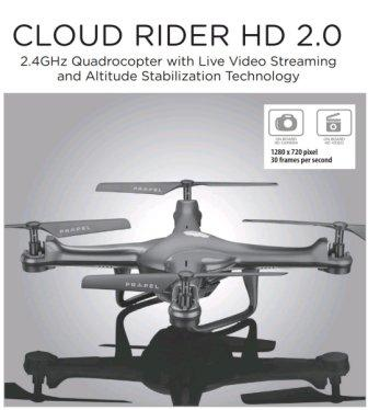 Propel Cloud Rider HD 2.0 Review