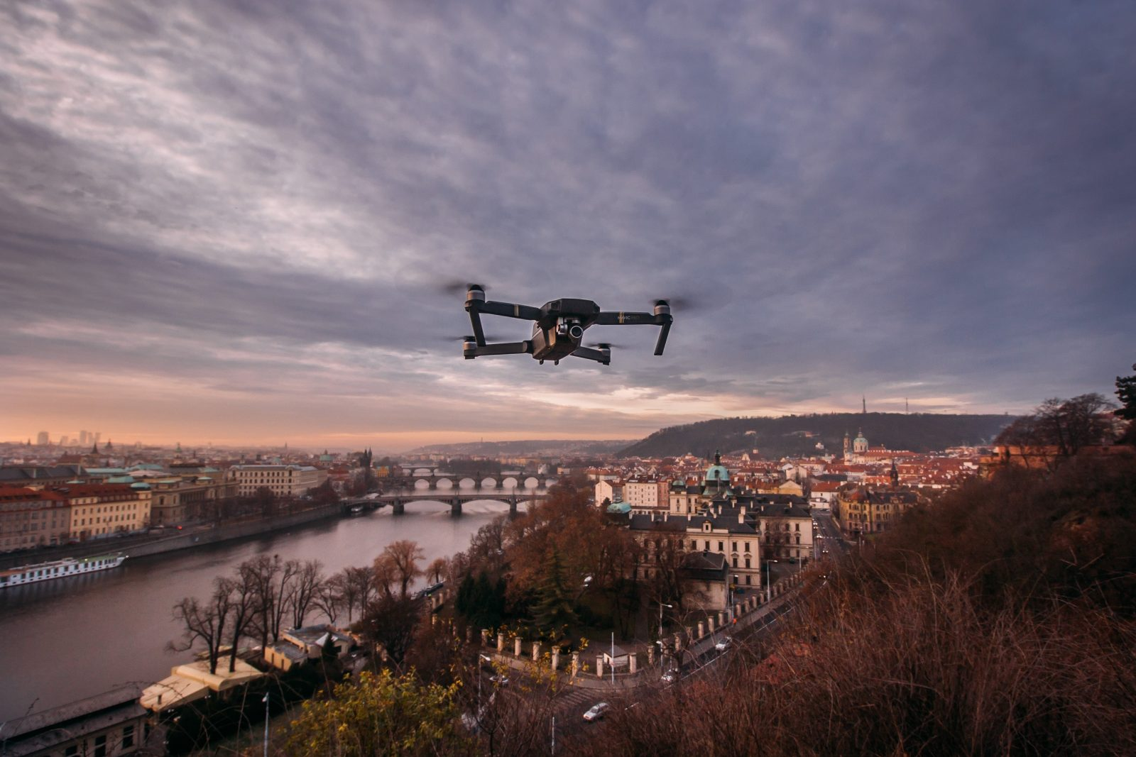 How to Safely Fly a Drone in a City