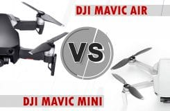 DJI Mavic Mini vs. Air – Battle of the Midrange Drones