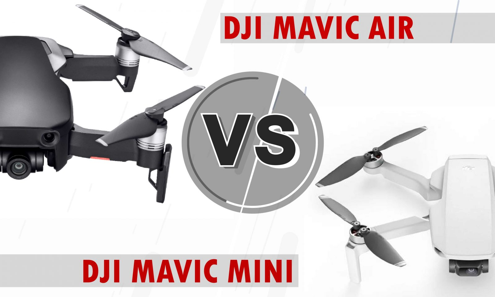 mavic mini vs mavic air